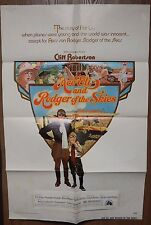 Ace Eli And Rodger Of The Skies 1973 Original Single Sided Folded Movie Poster