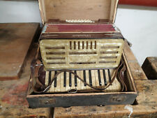 Hutschelli Ziehharmonika klein Alt antik Sammler Akkordeon Quetschkommode