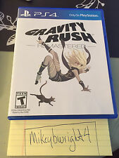 Gravity Rush Remastered Amazon Exclusive (PlayStation 4, 2016) US VERSION!!!