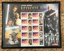 2012 Australia Star Wars Episode Ii Attack of The Clones Sheet Mnh