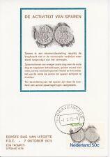 Nederland / Netherlands - First Day Card - The Hague / Save up money (1975)