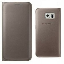 Custodia FLIP ORIGINALE Samsung Galaxy S6 copertina del libro di Smartphone EDGE ORIGINALE WALLET