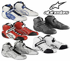 Alpinestars Tech 1-T Course Bottes,Fia & Sfi Compatible Ovale / Autograss / -