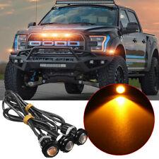 3pc LED Amber Grille Lighting Kit Universal Fit Truck SUV Ford SVT Raptor
