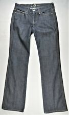 7 for All Mankind Colette Womens Jeans 28x29 Bootcut Made in USA Designer Denim