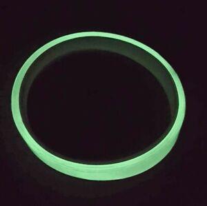 Glow In The Dark 3m Sticky Tape Self Adhesive Luminous Sticker Roll 10mm wide