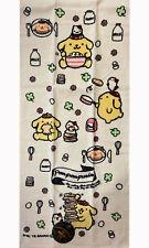 Japan Sanrio Caracters Pompompurin  Face Towel 34 x 75cm