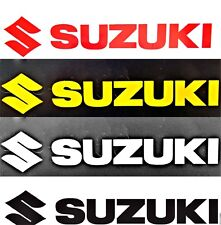 Suzuki Decal, Sticker 3 SIZES, 4 COLORS LOT x2, 6 YR WARRANTY GSX DR Motorcycle