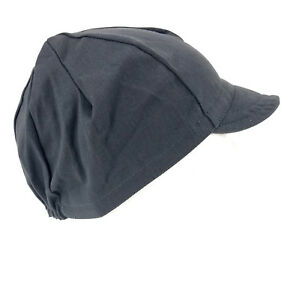 Pace Sportswear Traditional Cycling Cap Graphite