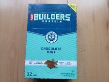 Coffret Clif Bar Builders le soja Naturel & Écrou la récupération musculaire pro...