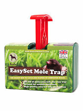4 x Easy Set Mole Traps. Highly effective. The easiest Mole Trap to use.