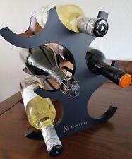 1 x Numanthia Spanish Wine Wooden 6 bottle wine rack new