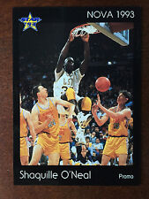 1993 Star Nova Shaquille O'Neal Rookie LSU Promo Card RC ONLY 100 MADE RARE
