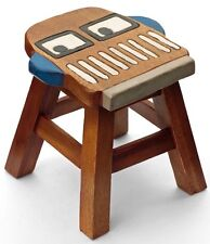 Kids Childrens Childs Wooden Stool Chair. Robot VR01