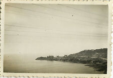 PHOTO ANCIENNE - VINTAGE SNAPSHOT - TRAIN VOYAGE NICE TOULON - TRIP 1936