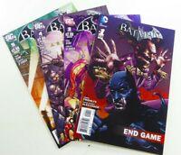 DC BATMAN: ARKHAM CITY (2011) #3 4 5 + END GAME (2013) One-Shot #1 VF to VF/NM