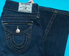 30 x 34 PRE-Owned TRUE RELIGION $216 FLARE CLASSICS JEANS