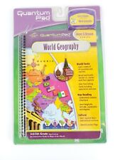 Quantum Pad Learning System - GEOGRAPHY -  Book & Cartridge NEW SEALED