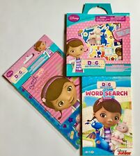 Doc McStuffins WORD SEARCH BOOK STICKER ALBUM FUN PACK lot NEW