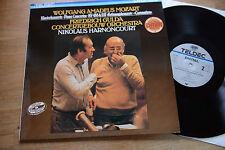 MOZART GULDA Klavierkonzerte KV 488 & 537 HARNONCOURT LP TELDEC Digital 421693