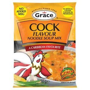 Grace Cock Flavour Noodle Soup Mix 50g