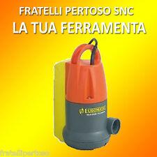 POMPA DRENAGGIO PER ACQUE SPORCHE EUROMATIC SDC550 CON GALLEGGIANTE POZZETTI