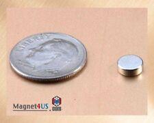 "100 pcs Super Strong Neodymium Rare earth Magnet Disc 3/16"" dia. x 1/16"" thick"