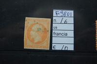 FRANCOBOLLI FRANCIA USATI N°16 (F9801)