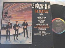 THE BEATLES SOMETHING NEW ORIGINAL 1964 CAPITOL MONO BRIT-POP! VG++ VINYL!