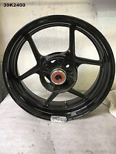 KAWASAKI  ZX 6  2009  REAR WHEEL 17 x 5.50  OEM   LOT39  39K2400 - M642