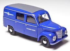H0 BUSCH Kastenwagen HalbbusTransporter Framo V 901 / 2 Barkas Werke DDR # 51273
