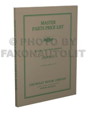 Chevrolet Master Parts Book 1929 1930 1931 1932 Catalog Manual Car Truck