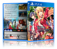 The Legend of Heroes: Trails of Cold Steel - Replacement PS4 Cover&Case.NO GAME!