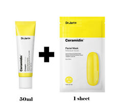 Dr. Jart Ceramidin Cream 50ml + Ceramidin Mask (1 sheet) Perfect Moisturizer