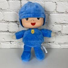 "10"" POCOYO Soft Plush Stuffed Doll Vinyl Head by Bandai Nick JR"
