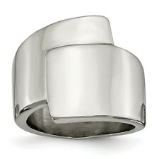 Chisel Stainless Steel Polished Fancy Ring SR345