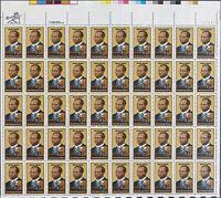 USA Briefmarken Bogen 50x 20 Cent 1983 Scott Joplin #30702-S