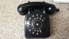 Phone Black Old Type Round Dial 1960s ???