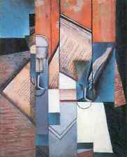 The Book 2 Juan Gris Abstract Art A2 Box Canvas Large