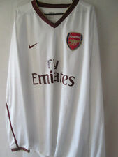 Arsenal 2007-2008 Player Issue Away Football Shirt XXL Long Sleeves /14010