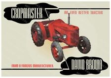 David Brown Cropmaster Tractor Advertising Alternative Version - Poster (A3) NEW