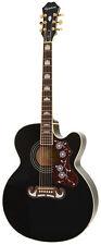 EPIPHONE EJ-200SCE BK Black Jumbo Westerngitarre Akustik Gitarre Guitar *NEU*
