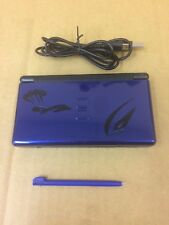Nintendo DS Lite CRIMSON Blue BLACK System Console Custom Pokémon Engraved