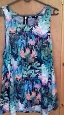 """Ladies Colourful """"Floral"""" Print Smock Top By """"H&M (Hennes & Mauritz)!"""" Size: L."""