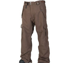 686 Smarty Original Cargo Snowboard Pant (L) Chocolate