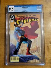Superman #204 CGC 9.6 1987 DC Comics Jim Lee. Scott Williams.Cover Art NM