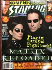Starlog #311 (2003) Matrix Reloaded, X-Men 2, Stargate, Smallville, Animatrix