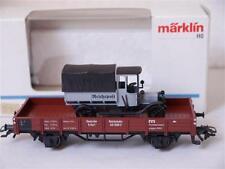 "Märklin 84504 H0 Niederbordwagen mit LKW ""Postmuseumswagen 1993"" der DRG"