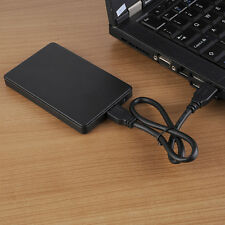 "USB 3.0 2.5"" 2TB SSD HD Hard Drive Disk SATA External Enclosure Case Cover Box"