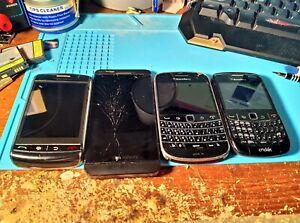 BlackBerry Smartphone Lot - Storm, Curve, Bold, Z10 - Parts/Repair - Read Desc.